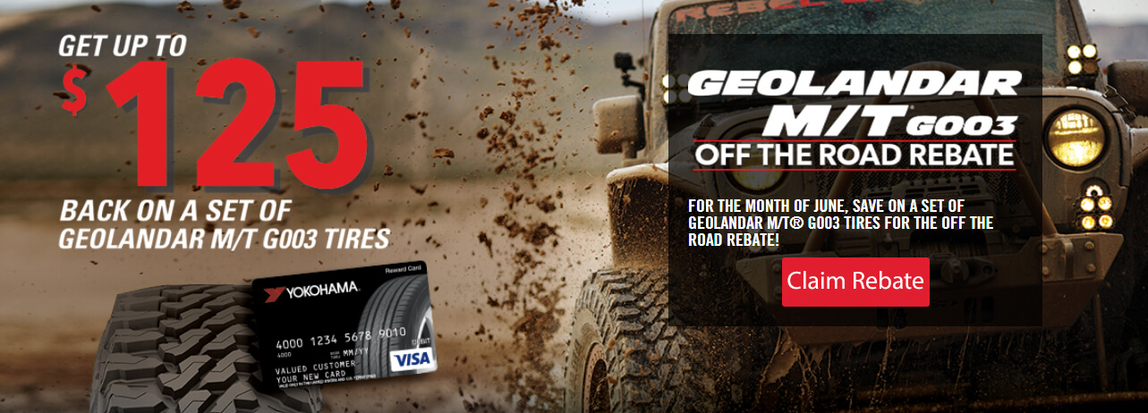 Geolander M T G003 Off The Road Tire Rebate Get Up To 125 Back