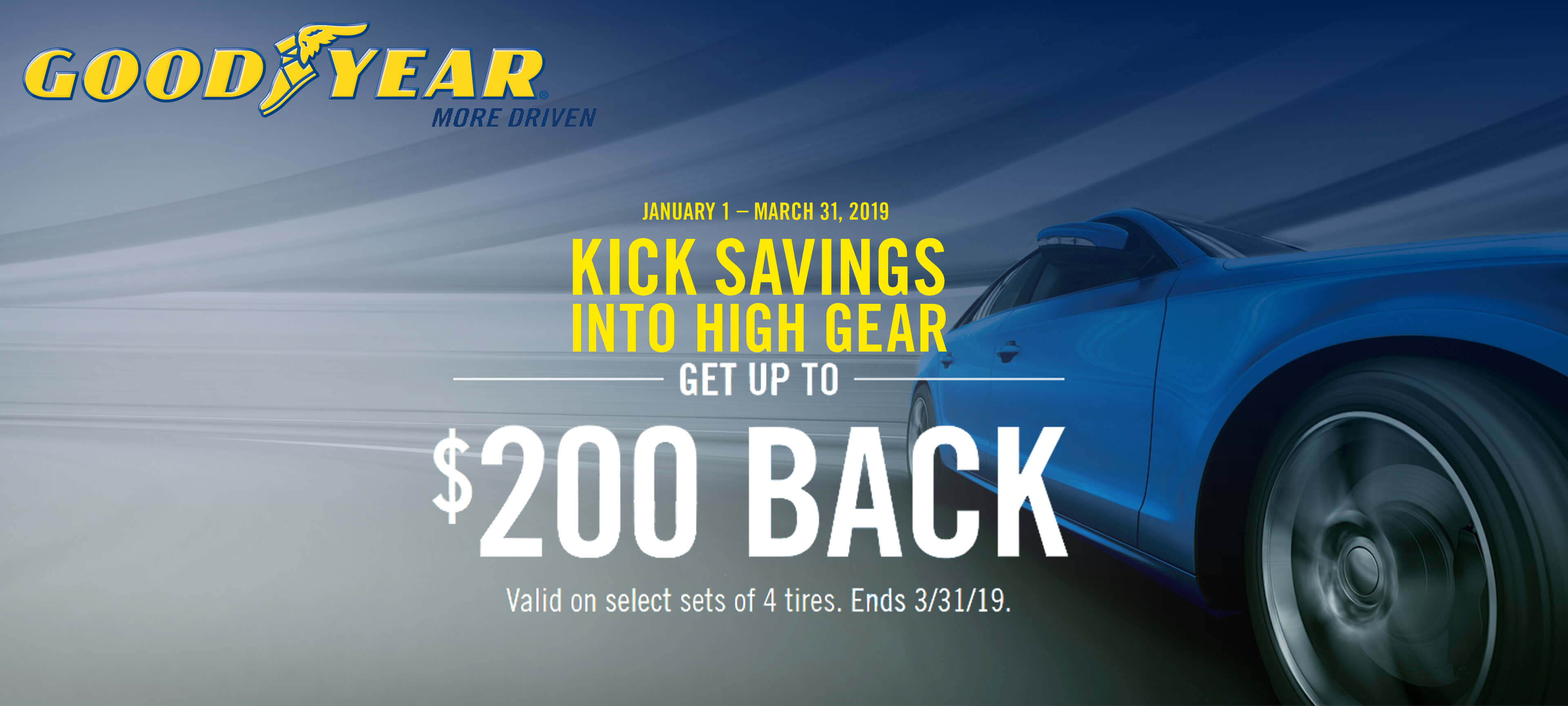 Goodyear Windshield Wipers >> Up To $200 Back In Rebates on Select Sets of 4 Goodyear ...